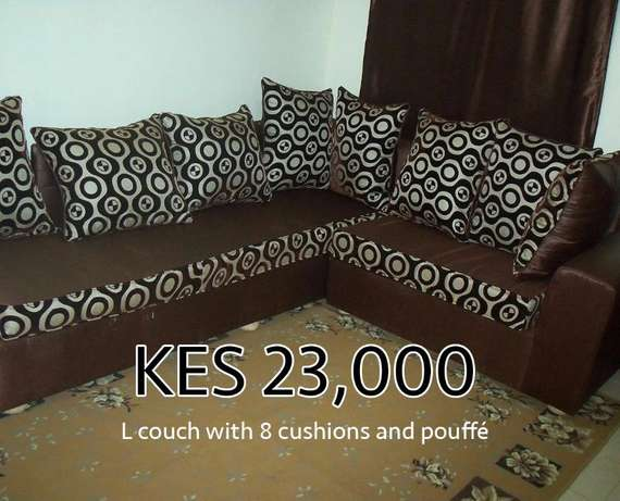 7-Seater L Couch/Sofa (Used) Roysambu - image 1