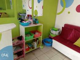 Fully equipped nail spa in a very ideal location in Syokimau.