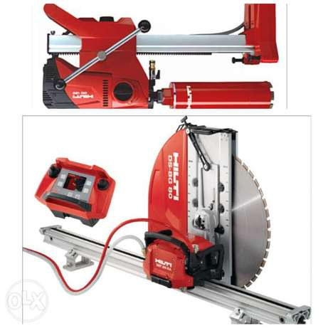 Concrete Core Drilling and concrete Saw cutting