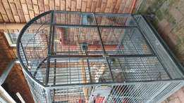 Rond Top Parrot Cage