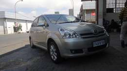 2007 Toyota Verso Sunroof 1.8Tx with 83000km full service history