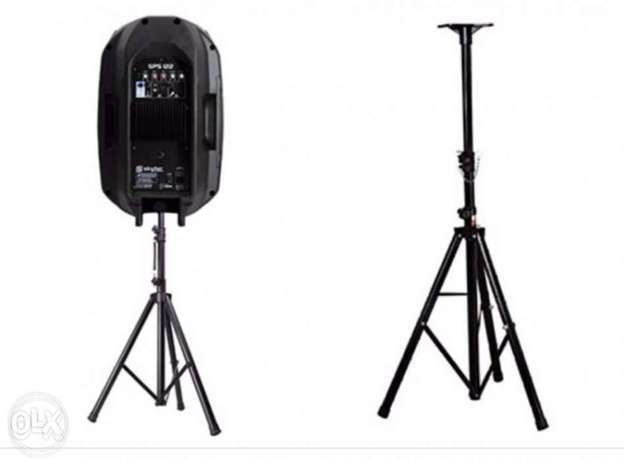 Speaker 200 watt 8 inch with microphone high quality with free stand