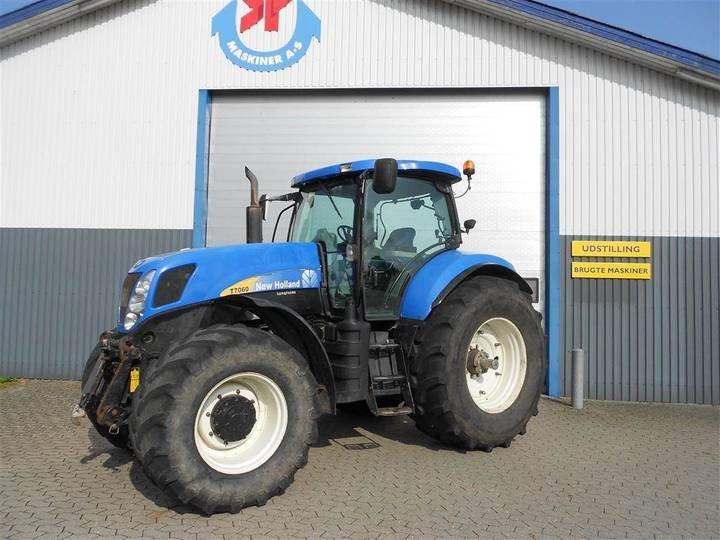 New Holland T7060 Tg Frontlift - 2008