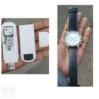 selling a universal ZTE modem and a Avon watch.