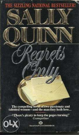 English Books - Regrets only by Sally Quinn