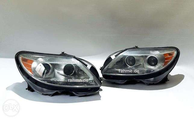 Mercedes Headlights Set Left &Right For CL-W216 طقم ضو مرسيدس اميريكي