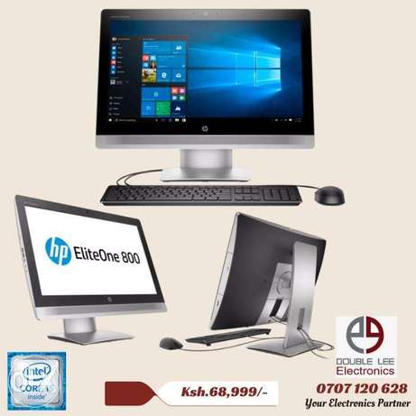 Brand New HP EliteOne 800 G2 All In One PC Core i5 4GB RAM 1TB HDD Nairobi CBD - image 1