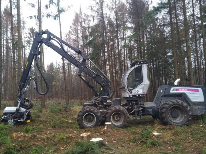 Logset Harvester 8h Gt - 2013