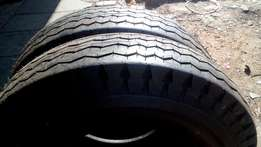 2 X 700/15 Bright new Trucks and Bakkies tyres for sell
