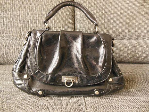 d6ced1032e199 skórzana torebka Ochnik - Swarzędz - Sprzedam czarną torebkę firmy Ochnik w  idealnym stanie. Torebka