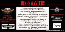 Can't Sell Your Harley? Let Us Do It On Your Behalf!