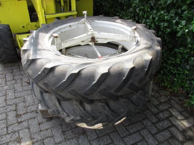 Molcon dubbelucht wielen 3 ster 13.6 / 12 R38