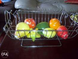 Fruits see saw for table or wall unit.