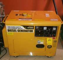 7KVA generator for HIRE