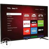 Brand New 43 Inch TCL Smart LED TV - Black. Free Delivery!