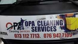 opa cleaning services special on carpet