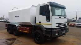 Iveco Water Tanker (2004 Model) Quote Ref. 517