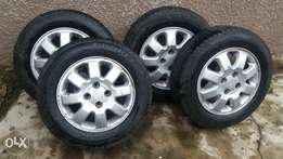 Opel utility tyres with rim