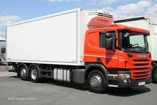 Scania P 410 6X2*4 E6, 2 t LBW, Lenkachse, Retarder - 2013