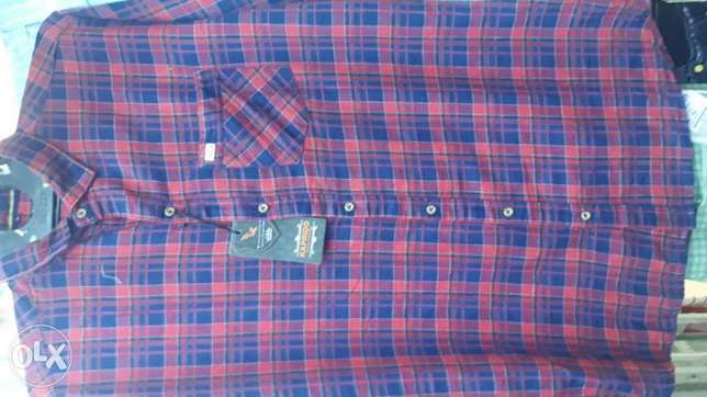 Man's shirts and trousers