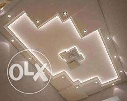 Round cube Pop ceiling boards