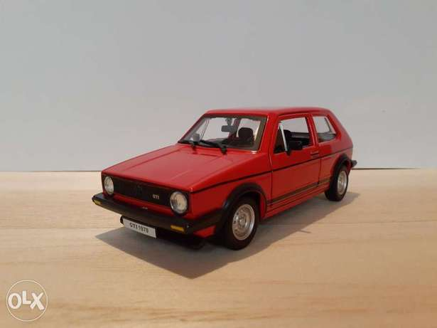 Golf GTI Mk1 diecast car model 1:24