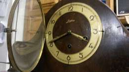ANTIQUE Junghans Mantel clock with chime