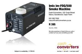 Imix im-FOG/500 Smoke Machine