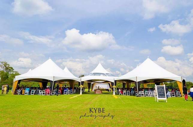 Hexagon tent, Foldable Chairs, Chiavari and Decor Services Westlands - image 2