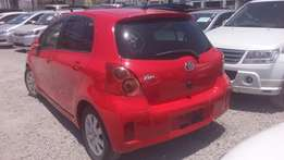 Fully loaded Toyota VITZ RSz available for sale.