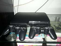 Playstation 3 with 500 gig and many games