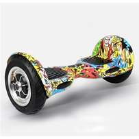 "10"" inch graffiti hover board available at Al adin electronics"