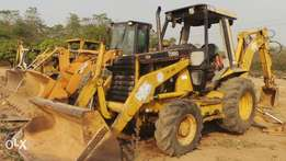 416-C backhoe CAT