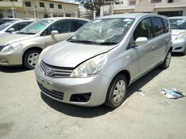 Nissan note silver KCN exquisite import