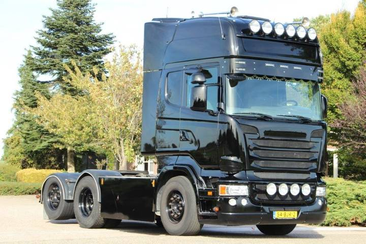 Scania r500 manuell retarder euro5! - 2008