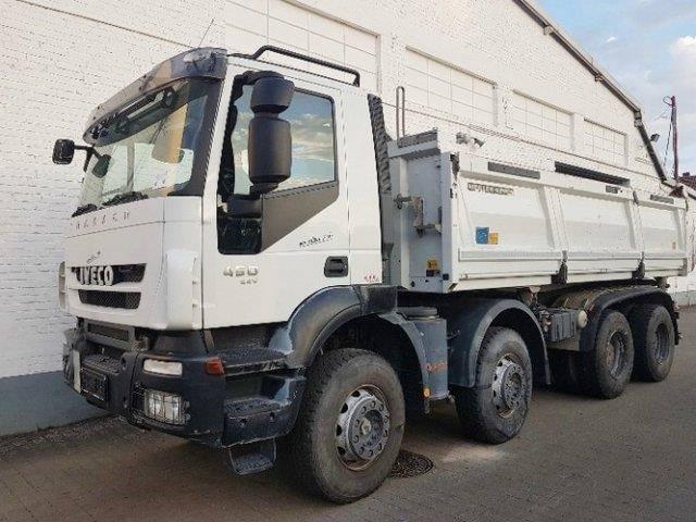 Iveco Magirus Trakker AD340T45 8x4 Trakker AD340T45/8x4/ - 2012