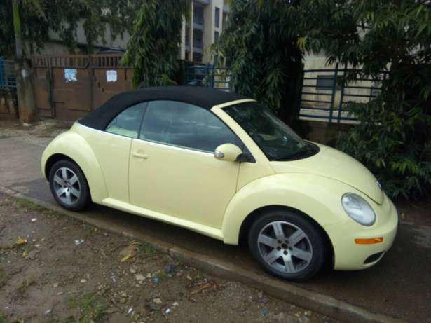 2006 Used Volkswagen Beetle Convertible for sale... Lugbe - image 5