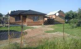 Two Bedroomed house