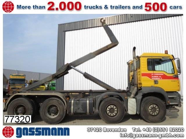MAN tga 35.460 bb 8x4 autom./klima/sitzhzg./efh. - 2003