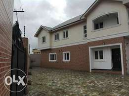 Lovely 5bedroom detached house ilupeju Estate.83m.governor consent