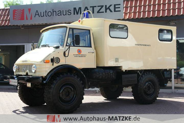 Mercedes-Benz Unimog 416 Koffer 5,6L 125PS Expedition 4x4 - 1981