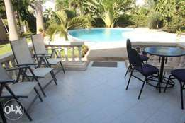 4br own compound fully furnished villa for rent in Nyali