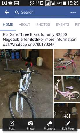 For Sale Three Bikes for only R2500 Negotiable for BothFor more inform Messina - image 4