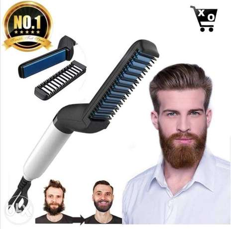 Electric comb for hair and beard.