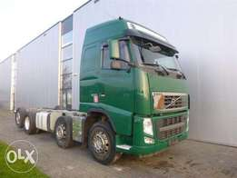 Volvo Fh500 8x2 Chassis Globetrotter Euro 5 - To be Imported