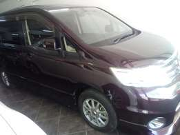Nissan Serena Wine Red