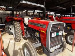 240 Massey Ferguson Tractors,50 Horse Power,2 Disc Plough and Delivery