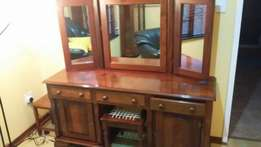 Collectors Dressing table solid imbua