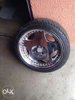 "18"" mags and tyres for sale"