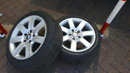 Bmw e46 mags and tyres first come first served